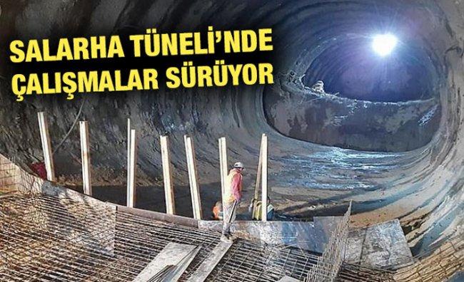 Salarha Tüneli'nde Işığın Görünmesine 100 Metre Kaldı