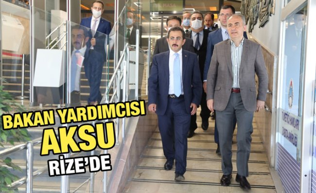 Bakan Yardımcısı Aksu'dan Başkan Metin'e Ziyaret