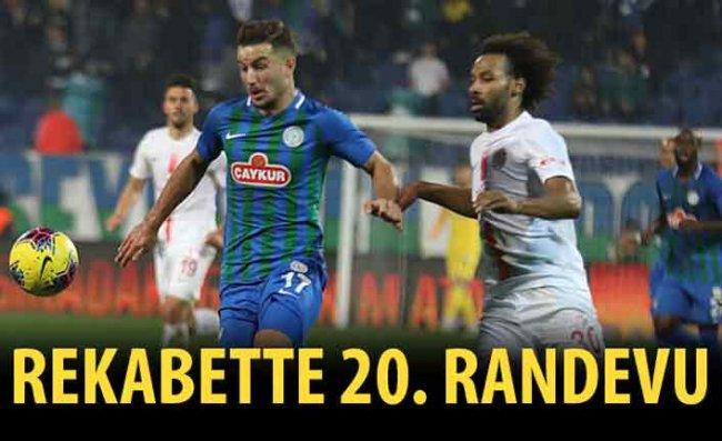 Çaykur Rizespor, 20'nci Kez Antalyaspor'a Rakip Olacak