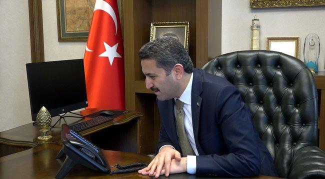 Başkan Eroğlu, Yaşlı Vatandaşları Telefonla Aradı