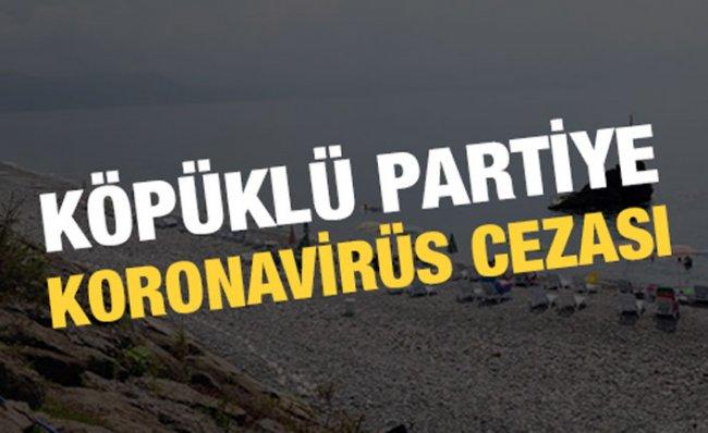 Plajdaki Köpük Partisine Para Cezası Kesildi