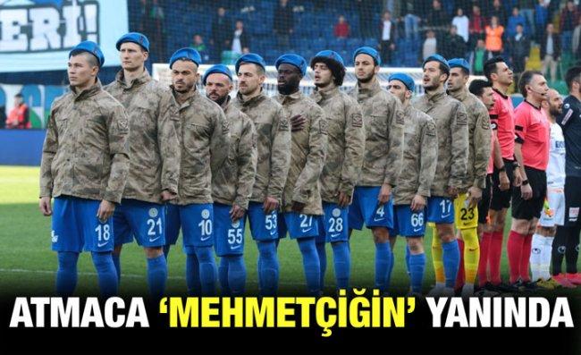 Çaykur Rizespor'dan Mehmetçiğe Destek