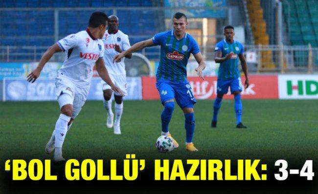 Çaykur Rizespor Hazırlık Maçında Trabzonspor'a Mağlup Oldu
