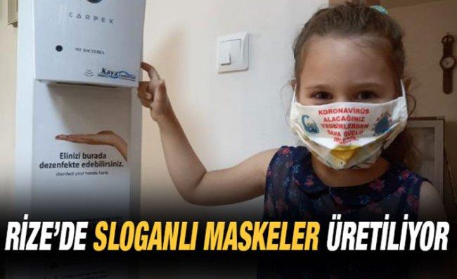 'Sloganlı Maske' ile Pandemi Tedbirlerine Uyma Çağrısı