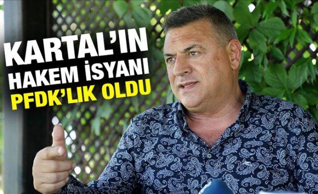 Çaykur Rizespor Başkanı Hasan Kartal, PFDK'ye Sevk Edildi