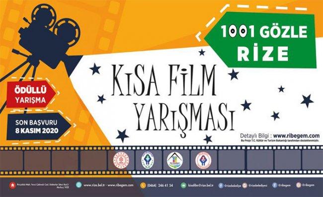 Rize Belediyesi'nden Ödüllü Kısa Film Yarışması