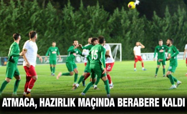 Hazırlık Maçı I Çaykur Rizespor: 2 - Akhisarspor: 2