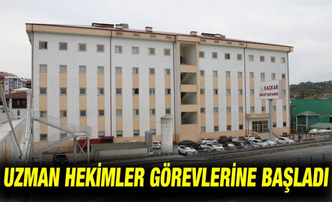 Kaçkar Devlet Hastanesi Başhekimi Dr. Altuntaş Görevine Başladı