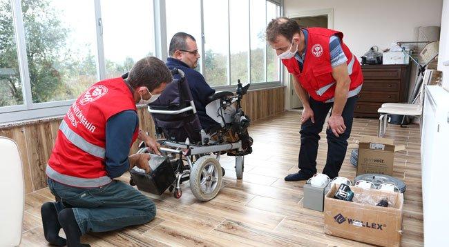 Engelli Araçlarına Ücretsiz Bakım ve Tamir Hizmeti