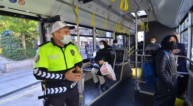 Halk Otobüslerinde 'Sivil Polis' Uygulaması