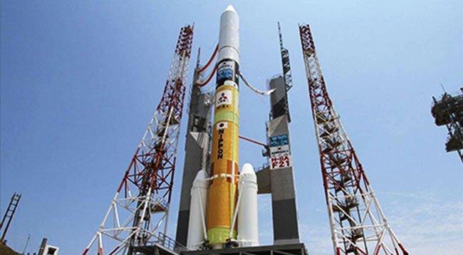 Japonya Yüksek Hız Kapasiteli İletişim Uyduları Fırlattı