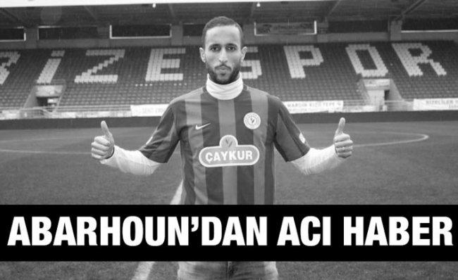 Çaykur Rizespor'un Eski Futbolcusu Abarhoun Hayatını Kaybetti
