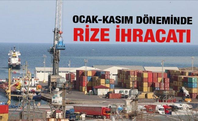 Doğu Karadeniz'den 11 Ayda 1,2 Milyar Dolar İhracat Gerçekleştirildi