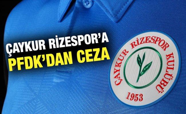 PFDK'dan 4 Süper Lig Ekibine Para Cezası