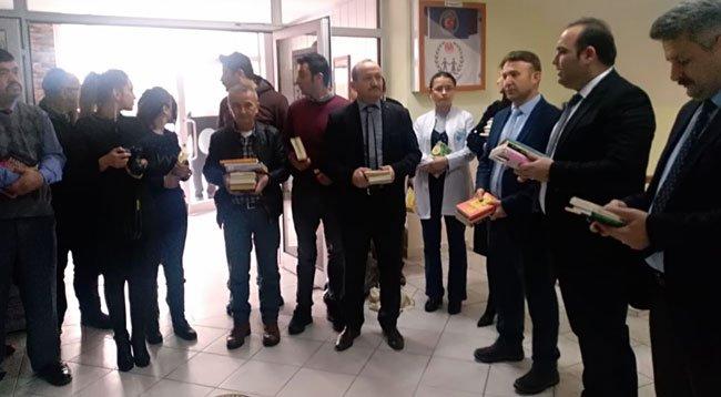 Ladik'te Kitap Toplama Kampanyası