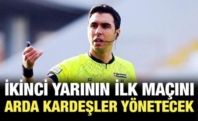 Süper Lig'de 18'inci Haftanın Hakemleri Açıklandı