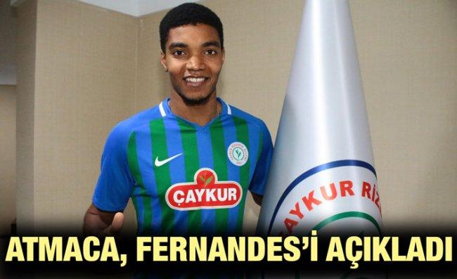 Çaykur Rizespor, Fernandes'i Kiraladı