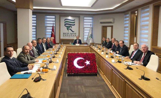 RTEÜ'de ÜNİ-DOKAP Toplantısı Yapıldı