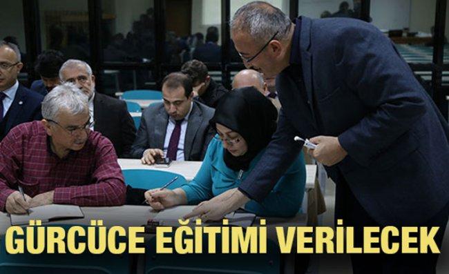 Rize'de Gürcü Dili Eğitim Programı Düzenlenecek