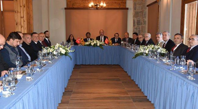 Büyükelçi Hassen, Trabzon'da İş İnsanlarıyla Buluştu