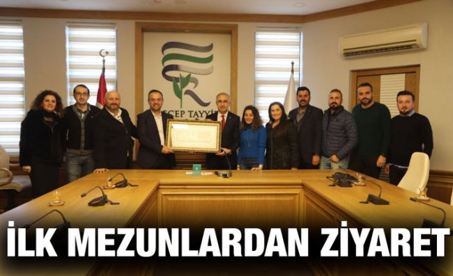 Yüksek Lisans Programının İlk Mezunlarından Karaman'a Ziyaret