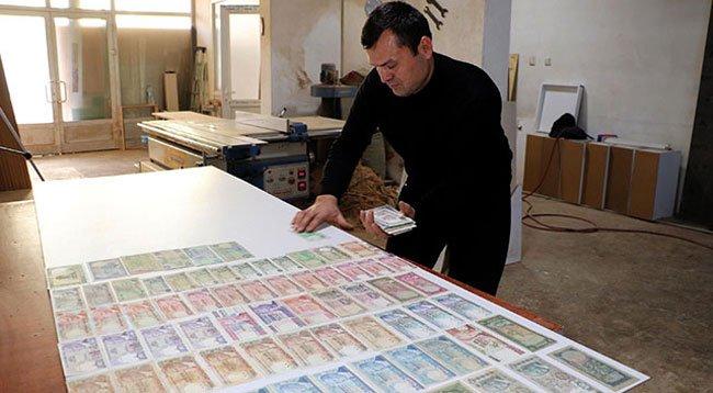 Dede Yadigarı Para Koleksiyonuna Gözü Gibi Bakıyor