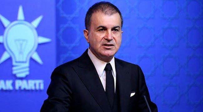 AK Parti'li Çelik'ten CHP'ye Tepki