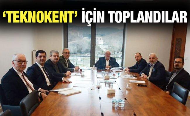 Teknokent'in İlk Yönetim Kurulu Toplantısı Yapıldı
