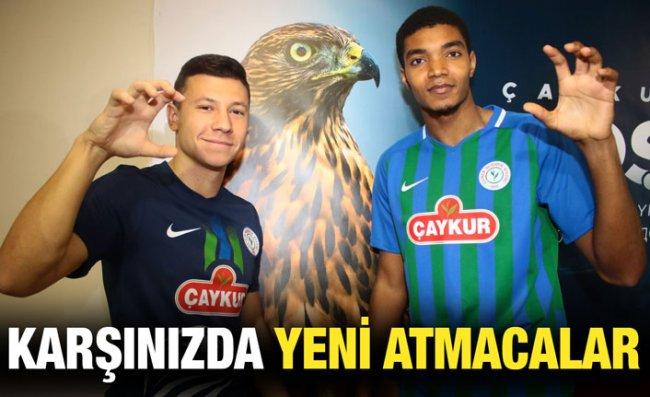 Fernandes ve Boriachuk ile Sözleşme İmzalandı