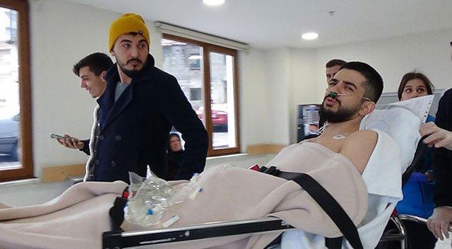 Boynundan Vuruldu 'Ölmedi, Diye Yazın' Dedi