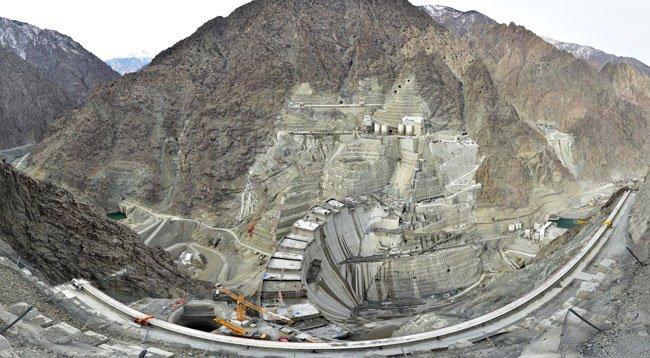 Yusufeli Barajı'nın Dörtte Üçü Tamamlandı