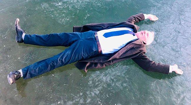 Göl Buz Tuttu, Çeşme ve Dereler Dondu