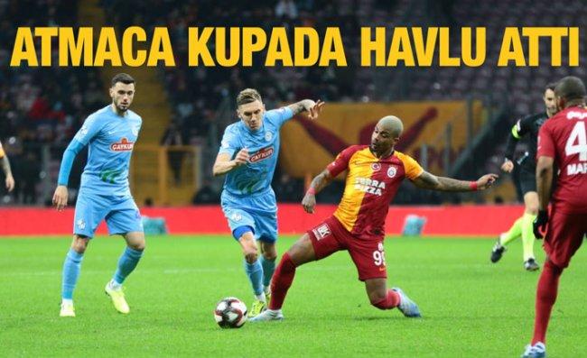 Çaykur Rizespor İstanbul'da Turu Bıraktı