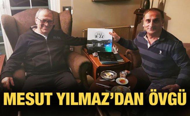 Mesut Yılmaz'dan 'Bir Zamanlar Rize' Kitabına Övgü