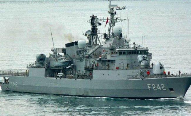 TCG Fatih Savaş Gemisi Rize'ye Geliyor