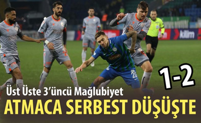Çaykur Rizespor 90'da Yıkıldı: 1-2