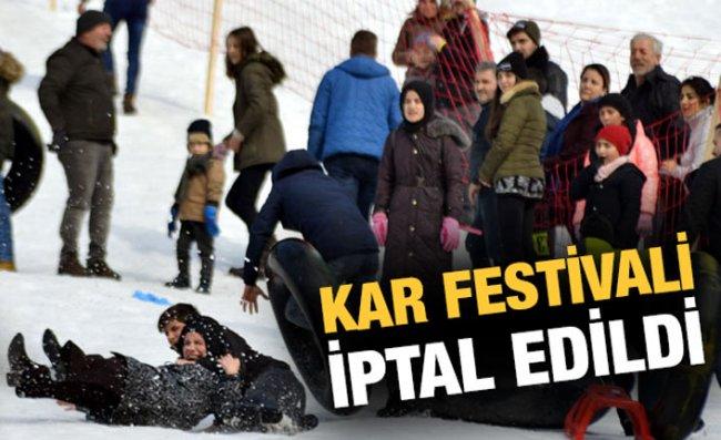 Ayder Kar Festivali İleri Bir Tarihe Ertelendi