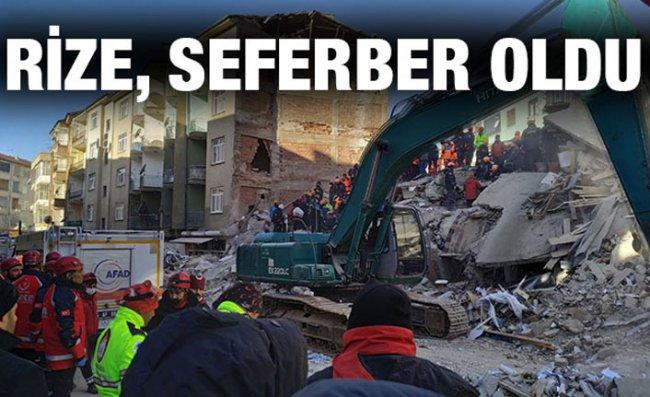 Rize Valiliği'nden 'Deprem' Açıklaması