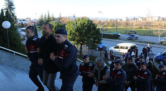 Samsun'da 'Change' Operasyonu: 8 Gözaltı