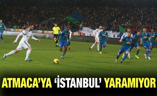 Çaykur Rizespor'un 'İstanbul' Kabusu