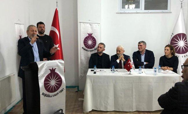 Ekşioğlu Vakfı'nda Süleyman Ekşi Yeniden Başkan Oldu