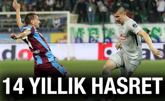 Çaykur Rizespor, Trabzon'da Galibiyete Hasret