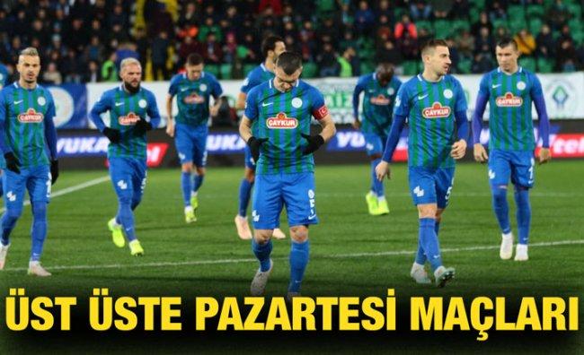 Süper Lig'de 21-25'inci Haftanın Programı Açıklandı