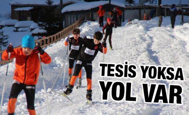 Yolda Kayakla, Şampiyonluğa Uzandılar