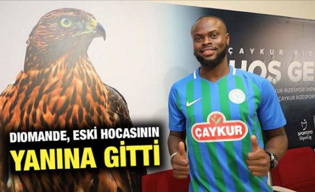 Çaykur Rizespor ile Sözleşmesini Fesheden Diomande, İH Konyaspor'la Anlaştı