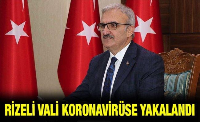 Rizeli Vali Karaloğlu'nun Kovid-19 Testi Pozitif Çıktı