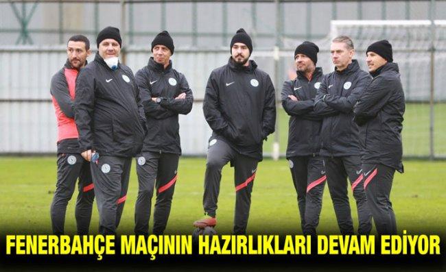 Çaykur Rizespor, Fenerbahçe Maçı Hazırlıklarını 13 Eksikle Sürdürdü