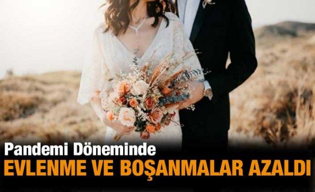 Rize'de Evlenme ve Boşanma Sayıları Azaldı