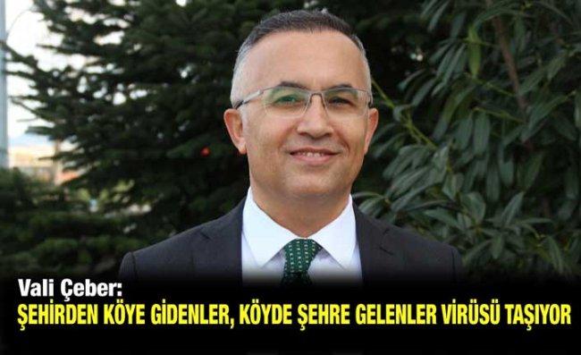 Vali Çeber: Karadeniz'e Özgü Sosyal Hareketliliği Kısmamız Lazım