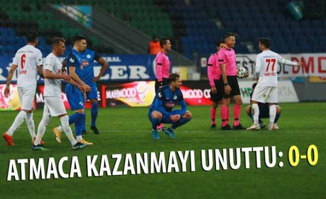 Çaykur Rizespor'un Galibiyet Hasreti 7 Maça Çıktı